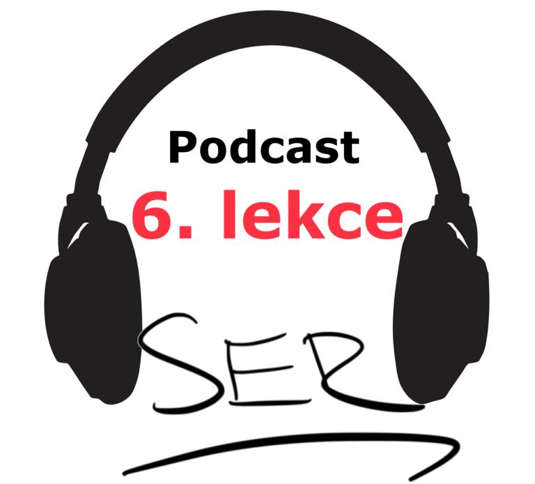 podcast - 6. lekce - online spanelsky