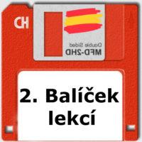 balíček online video lekcí španělštiny úroveň A2