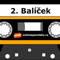 2. balíček - online podcastů na výuku španělského jazyka